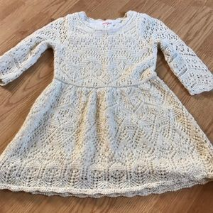 Cat & Jack Girls sweater dress size 3T